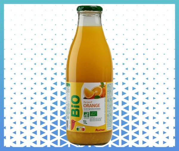 pure jus d'orange bio sans pulpe livraison courses à domicile à nice