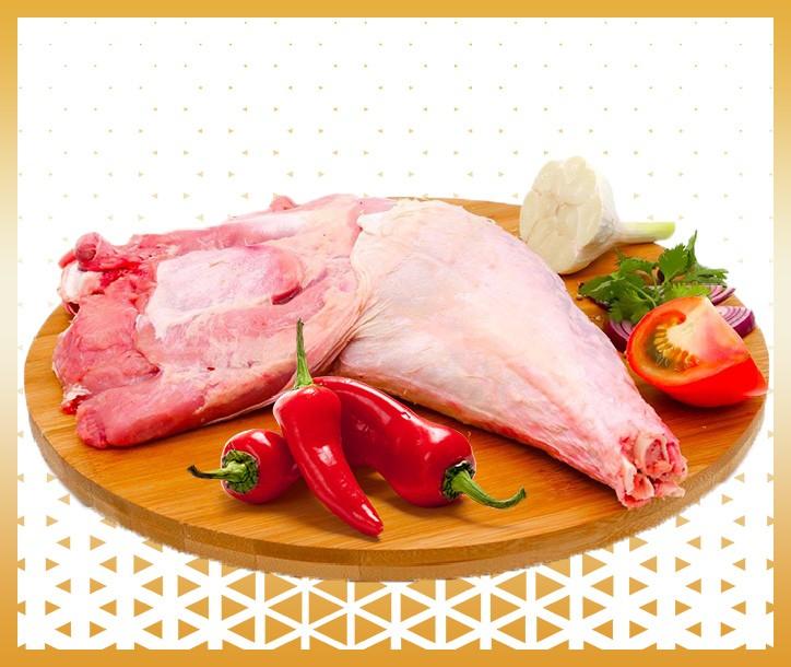 CUISSE DE DINDE - LA PIÈCE ≃ 1.5kg - 1.7kg