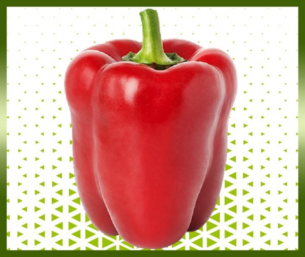 Commande poivron rouge livraison panier fruits et légumes à domicile à nice