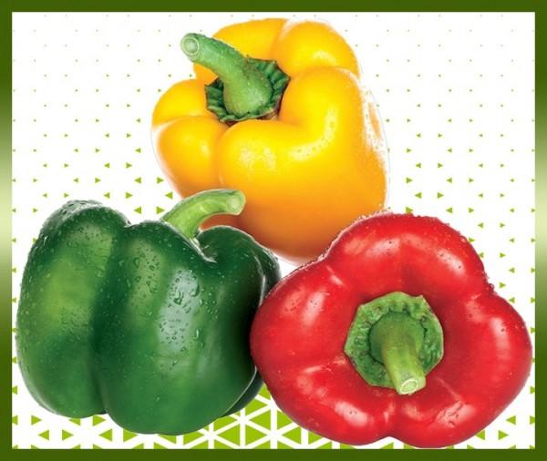 Commande poivron tricolore livraison panier fruits et légumes à domicile à nice