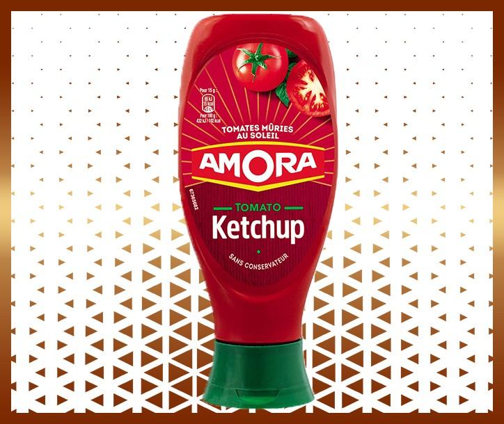 KETCHUP AMORA - 550g