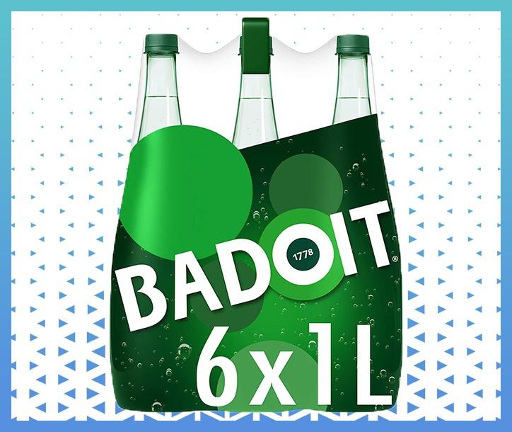 EAU GAZEUSE BADOIT -  1L (PACK DE 6)