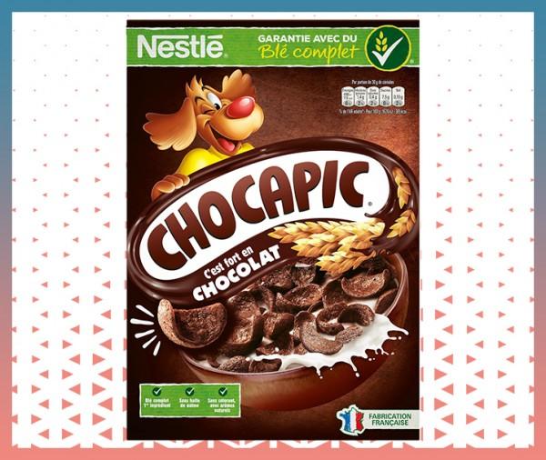 petit déjeuner céréales au chocolat chocapic livraison à domicile nice