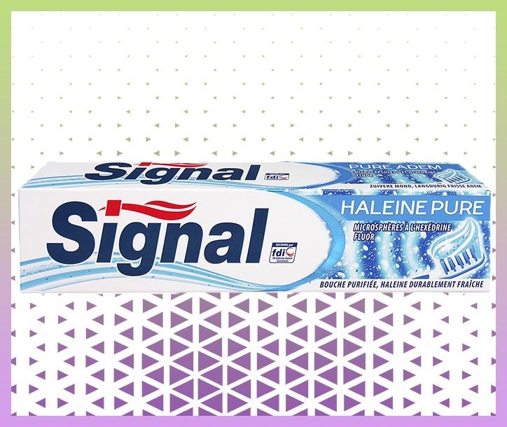 DENTIFRICE SIGNAL HALEINE PURE - 75ML