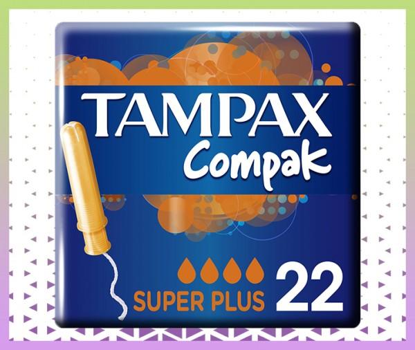 Serviettes hygiéniques Tampax Compak Super Plus Tampons Applicateur livraison à domicile à nice