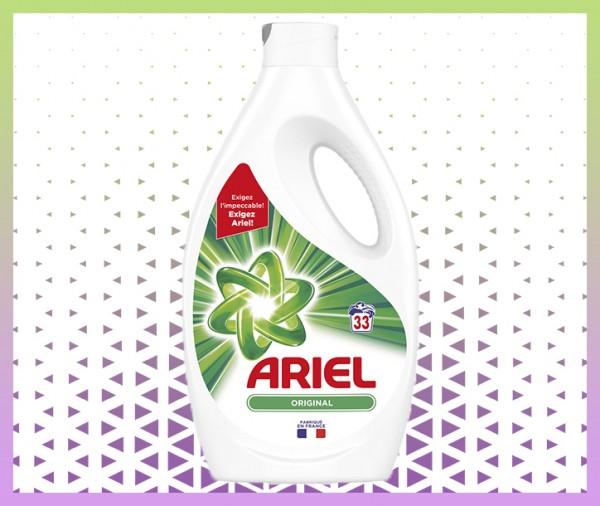 commande en ligne Ariel Original Lessive Liquide 33 Lavages livraison à domicile à nice