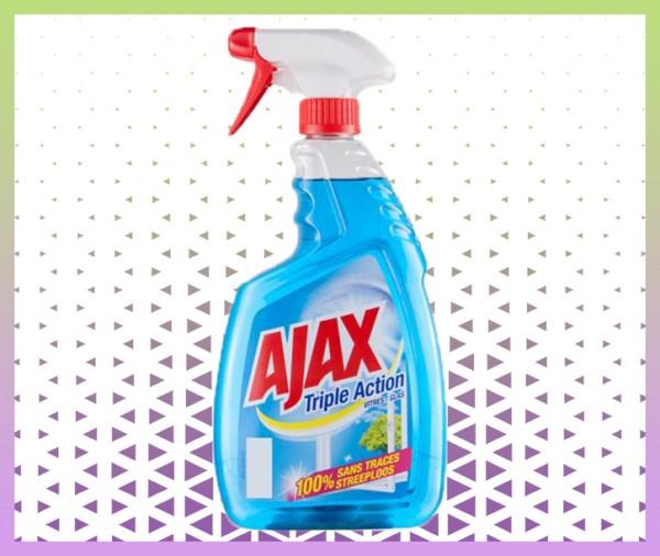 Nettoyant vitre ajax spray triple action livraison à domicile à nice