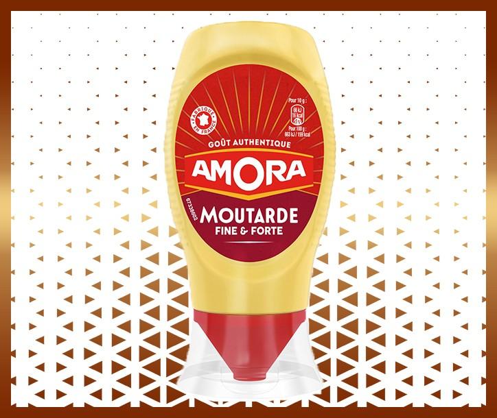 MOUTARDE AMORA FINE ET FORTE - 265g