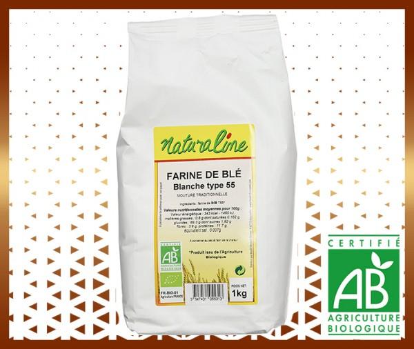 Livraison farine de blé fluide bio type t 55 panier de légumes secs et céréales à domicile à nice