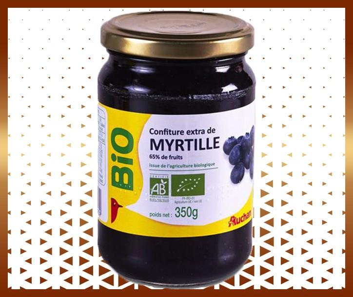 CONFITURE DE MYRTILLE BIO